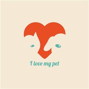 宠物店logo素材