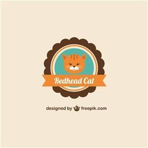 貓咖logo素材