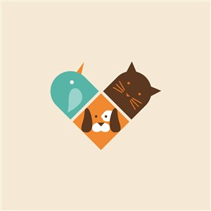 寵物店logo素材