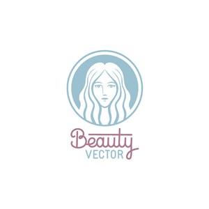 美容護膚矢量logo標志