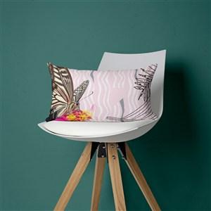 放在椅子上的抱枕樣機模板抱枕貼圖樣機