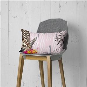 印花沙發靠背樣板房軟裝裝飾抱枕樣機