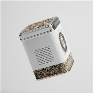 茶叶铁罐包装样机