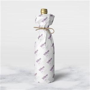 红酒瓶包装纸样机模板红酒瓶礼物包装