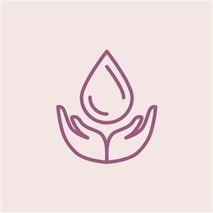绿色环保logo素材