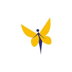 美容醫院矢量logo設計素材