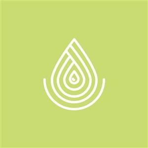 设计公司logo设计素材水滴图标