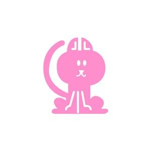 猫矢量图标设计传媒矢量logo素材