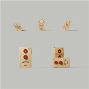 档案袋资料袋办公用品样机素材