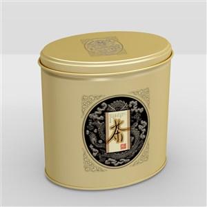 高档铁罐密封茶叶包装样机