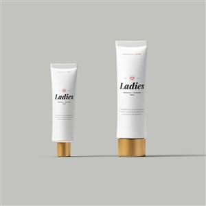 洗面奶化妆品护肤品样机素材