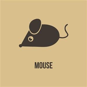 网络科技公司logo素材老鼠图标