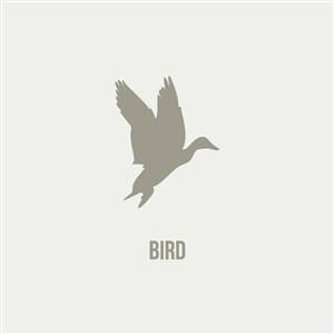 网络科技公司logo素材鸟图标