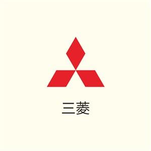 三菱汽车矢量logo图标
