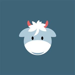 羊图标服装公司logo素材