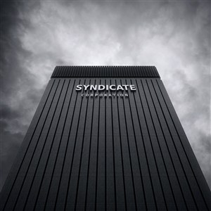 企業公司立體標志樣機