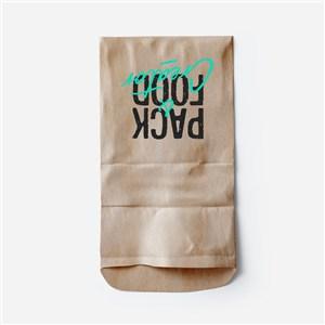 牛皮紙袋食品包裝袋樣機