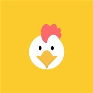 雞肉制品食品公司矢量logo素材