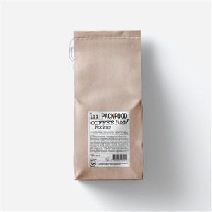 食品包装牛皮纸食品包装袋样机