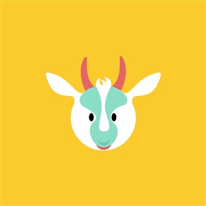 羊图标设计传媒矢量logo素材