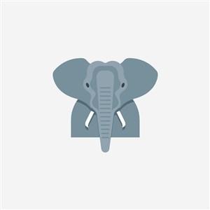 大象设计传媒公司矢量logo素材