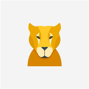 豹子图标贸易公司矢量logo素材
