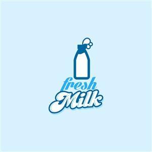 乳液公司矢量logo設計素材
