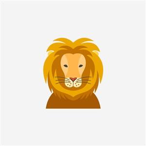 网络科技公司矢量logo设计素材狮子图标