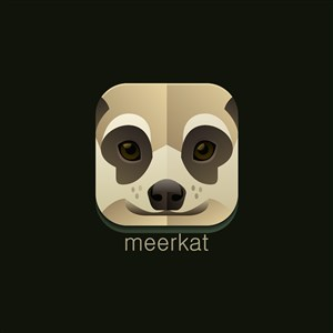 猫鼬logo素材设计传媒矢量图标