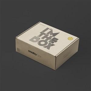 盒子纸盒创意礼品包装盒样机