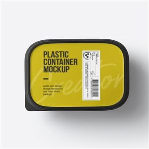 塑料食品密封包装盒样机