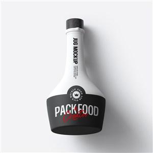 创意瓶子酒瓶包装样机