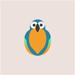 服装公司logo素材鸟图标