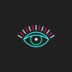 眼科醫院矢量logo設計素材