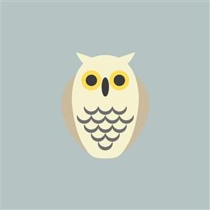 文具店矢量logo设计素材猫头鹰图标