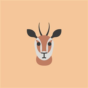 羚羊图标设计传媒矢量logo素材