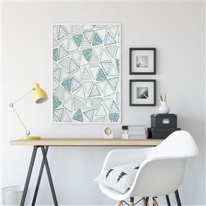 办公空间装饰画画框样机