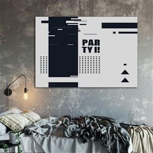 卧室挂画装饰画画框样机