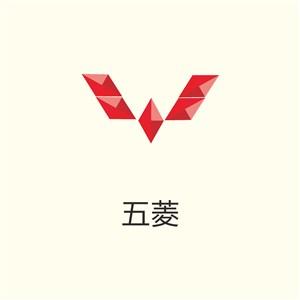 五菱汽車logo圖標設計模板