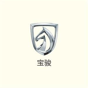 马图标宝骏汽车矢量logo设计模板