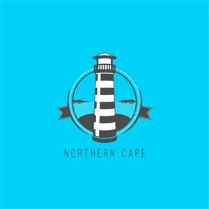 燈塔圖標環球旅行矢量logo素材