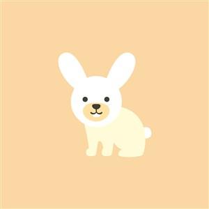 餐飲公司logo素材兔子圖標