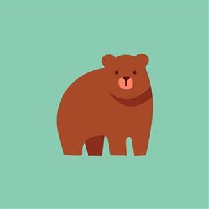 熊圖標設計傳媒矢量logo素材