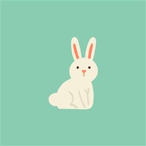 餐飲公司矢量logo素材兔子圖標
