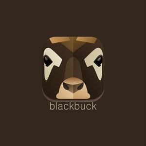 印度羚羊图标设计传媒矢量logo素材