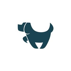 狗矢量圖標網絡科技公司logo素材