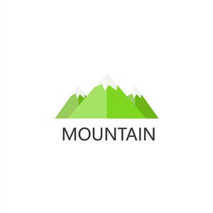 山图标设计传媒logo素材