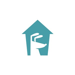 狗圖標寵物用品店矢量logo設計素材