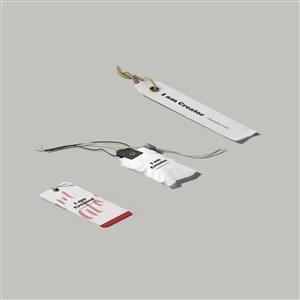 各种标签吊牌样机素材