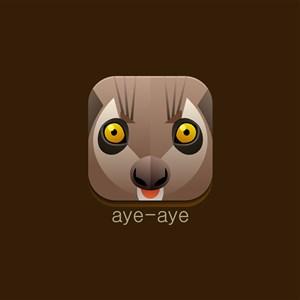 狐猴图标设计传媒矢量logo素材